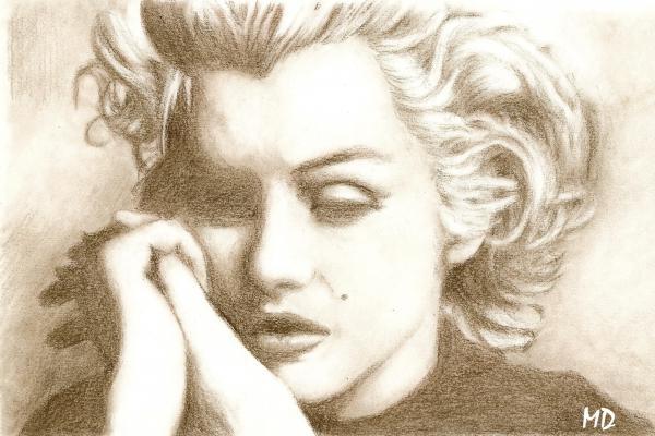 Marilyn Monroe par Mathilde-DRACENA